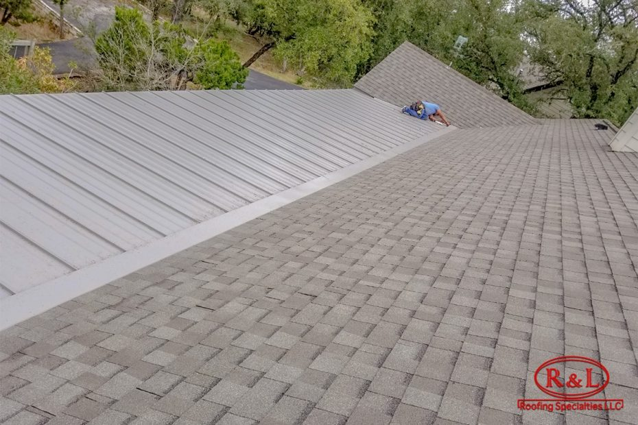 Hybrid Metal Shingle Roof