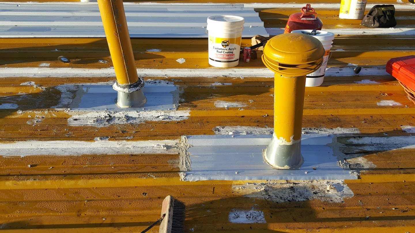 roof coatings and seals austin